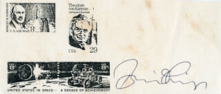 BRIAN O'LEARY - PHOTOCOPY SIGNED IN INK
