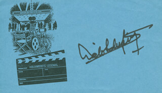 LALO SCHIFRIN - PRINTED CARD SIGNED IN INK