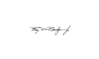 MAJOR GENERAL ROY D. BRIDGES JR. - AUTOGRAPH