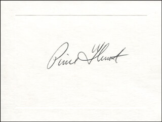 COMMANDER PIERRE J. THUOT - AUTOGRAPH