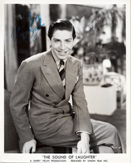 MILTON BERLE - PRINTED PHOTOGRAPH SIGNED IN INK