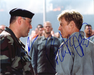 LAST CASTLE MOVIE CAST - AUTOGRAPHED SIGNED PHOTOGRAPH CO-SIGNED BY: ROBERT REDFORD, JAMES GANDOLFINI
