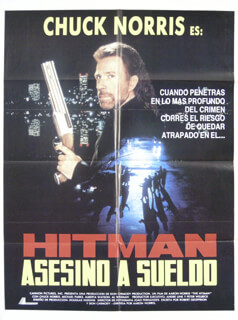 HITMAN MOVIE CAST - ORIGINAL ONE SHEET UNSIGNED