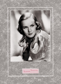 FRANCES FARMER - COLLECTION