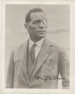 FLOYD P. GIBBONS - AUTOGRAPHED SIGNED PHOTOGRAPH
