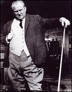GERT FROBE - AUTOGRAPHED SIGNED PHOTOGRAPH