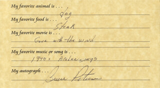 BRUCE PETERSON - QUESTIONNAIRE SIGNED