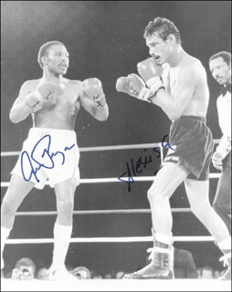AARON PRYOR - AUTOGRAPHED SIGNED PHOTOGRAPH CO-SIGNED BY: ALEXIS ARGUELLO