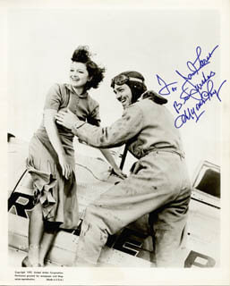 MYRNA LOY - AUTOGRAPHED INSCRIBED PHOTOGRAPH