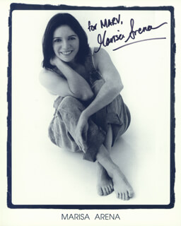 MARISA ARENA - AUTOGRAPHED INSCRIBED PHOTOGRAPH