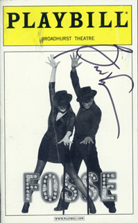 BEN VEREEN - SHOW BILL SIGNED