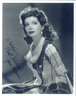 JANE PONI ADAMS - AUTOGRAPHED INSCRIBED PHOTOGRAPH
