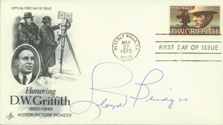 LLOYD BRIDGES - FIRST DAY COVER SIGNED