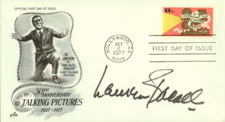 Autographs: LAUREN BACALL - FIRST DAY COVER SIGNED