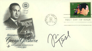 JOHN TESH - FIRST DAY COVER SIGNED