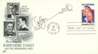 BLAIR UNDERWOOD - FIRST DAY COVER SIGNED