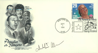 Autographs: DEBBIE ALLEN - FIRST DAY COVER SIGNED