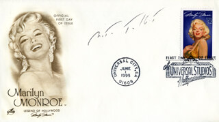 NITA TALBOT - FIRST DAY COVER SIGNED