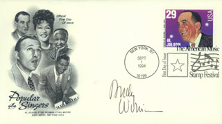 ANDY WILLIAMS - FIRST DAY COVER SIGNED