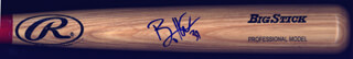 BO HART - BASEBALL BAT SIGNED