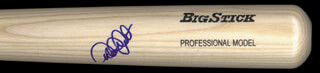 DEREK JETER - BASEBALL BAT SIGNED
