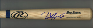 RICHIE SEXSON - BASEBALL BAT SIGNED