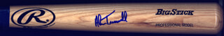 ALAN TRAMMELL - BASEBALL BAT SIGNED