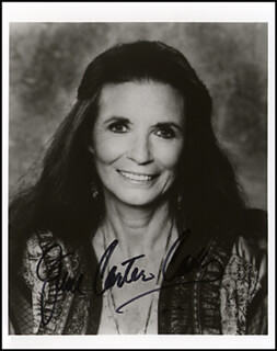 JUNE CARTER CASH - AUTOGRAPHED SIGNED PHOTOGRAPH  - HFSID 264896