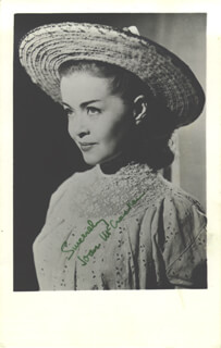 JOAN McCRACKEN - AUTOGRAPHED SIGNED PHOTOGRAPH