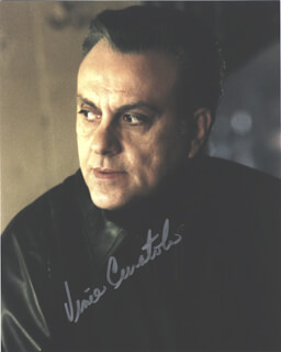 VINCE CURATOLO - AUTOGRAPHED SIGNED PHOTOGRAPH