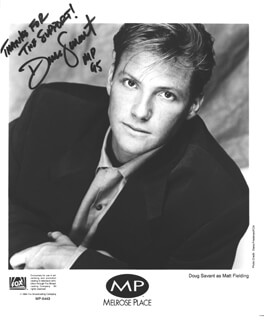 DOUG SAVANT - PRINTED PHOTOGRAPH SIGNED IN INK 1995