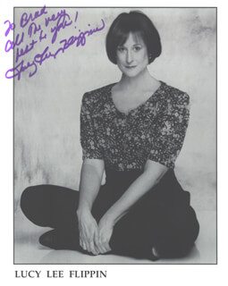 LUCY LEE FLIPPIN - AUTOGRAPHED INSCRIBED PHOTOGRAPH