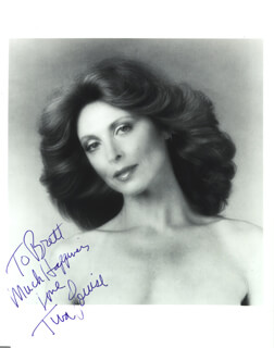 TINA LOUISE - AUTOGRAPHED INSCRIBED PHOTOGRAPH