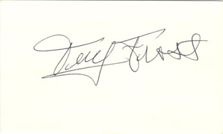 TERRY FROST - AUTOGRAPH