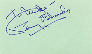 PENNY EDWARDS - INSCRIBED SIGNATURE