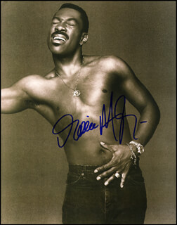 EDDIE MURPHY - AUTOGRAPHED SIGNED PHOTOGRAPH