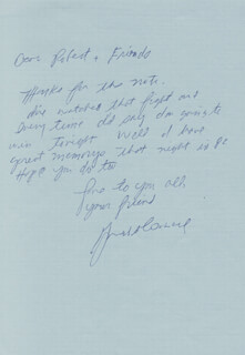 GERRY COONEY - AUTOGRAPH LETTER SIGNED