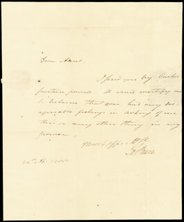 VICE PRESIDENT AARON BURR - AUTOGRAPH LETTER SIGNED 04/24/1788