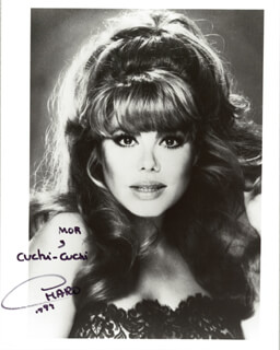 CHARO - AUTOGRAPHED SIGNED PHOTOGRAPH 1997
