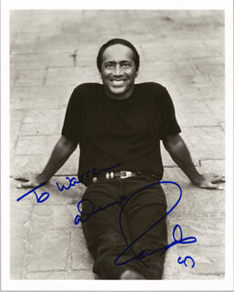 PAUL ANKA - AUTOGRAPHED INSCRIBED PHOTOGRAPH 1997