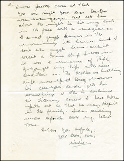W. C. FIELDS - AUTOGRAPH LETTER SIGNED