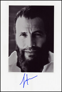 CAT YOUSEF ISLAM STEVENS - AUTOGRAPHED SIGNED PHOTOGRAPH