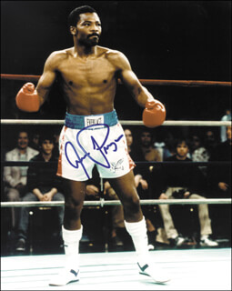 AARON PRYOR - AUTOGRAPHED SIGNED PHOTOGRAPH