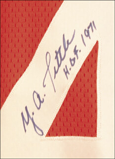 Autographs: Y. A. TITTLE - JERSEY SIGNED