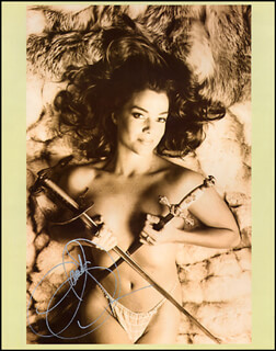 CLAUDIA CHRISTIAN - AUTOGRAPHED SIGNED PHOTOGRAPH