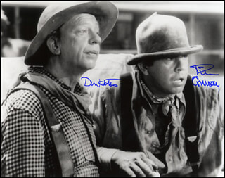 APPLE DUMPLING GANG MOVIE CAST - AUTOGRAPHED SIGNED PHOTOGRAPH CO-SIGNED BY: TIM CONWAY, DON KNOTTS