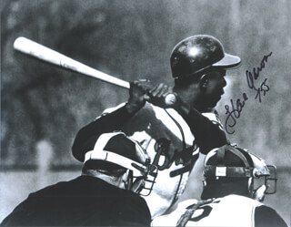 HANK AARON - AUTOGRAPHED SIGNED PHOTOGRAPH