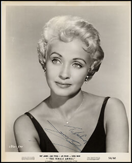JANE POWELL - AUTOGRAPHED INSCRIBED PHOTOGRAPH CIRCA 1958