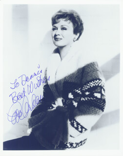 EVE ARDEN - AUTOGRAPHED INSCRIBED PHOTOGRAPH