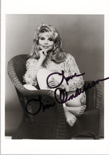 LONI ANDERSON - AUTOGRAPHED SIGNED PHOTOGRAPH